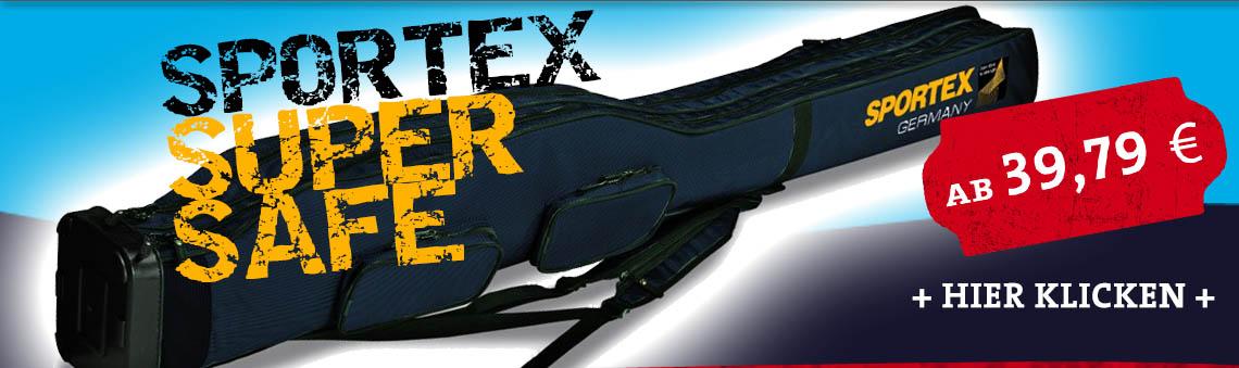 Sportex Super Safe Rutentaschen Rutenfutterale Rutentasche Rutenfutteral online günstig kaufen bestellen