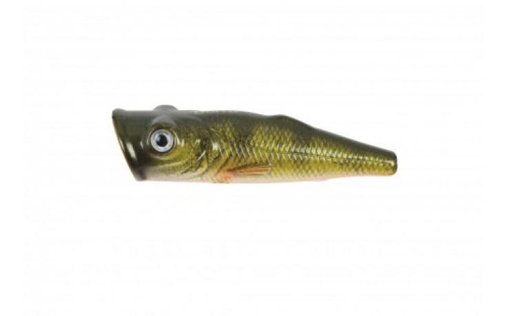 DOIYO Kiho Omote 65 Popper 6,4 cm Oberflächenköder für Raubfische mit 0 Meter Tauchtiefe