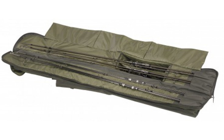 Anaconda Eco Double Rod Sleeve 12ft Rutenfutteral 1,95 Meter Karpfenrutenfutteral