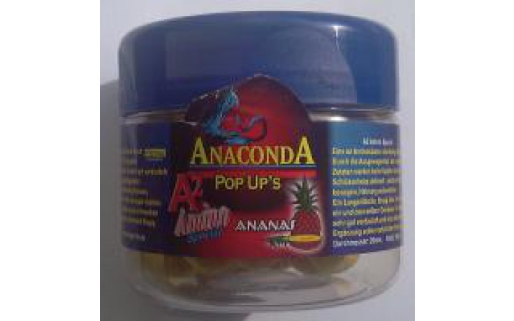 Anaconda Pop Up Boilies Ananas Restbestand