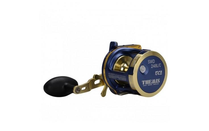 Tica Themis Linkshand Multirolle SWD 348 LC 400 Meter 0,35 mm Schnurfassung