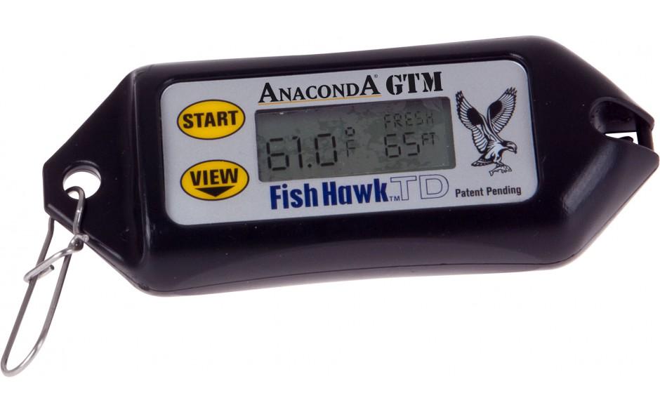Anaconda GTM Fish Hawk digitaler Tiefen- und Temperaturmesser