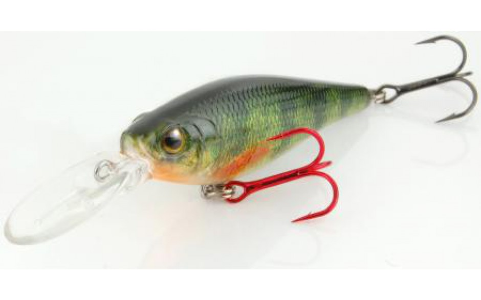Spro Ikiru Shad 70LL SP Wobbler Green Perch