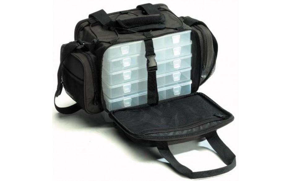 Iron Claw Tasche Small Angeltasche mit Kunstköderboxen