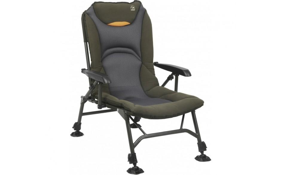 Behr Trendex Comfort Lite Karpfenstuhl Angelstuhl 6,8 kg bis 130 kg belastbar mit Armlehnen
