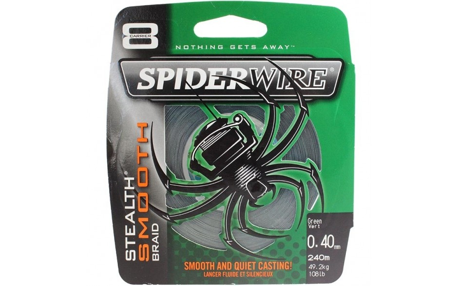 Moosgr/ün Spiderwire Stlth Angelschnur Ultracast Stealth Glatt 8 300 M
