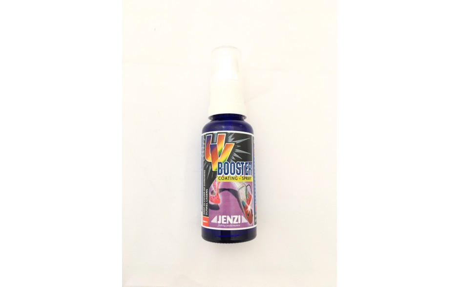 Jenzi UV-Booster in Sprühflasche fuer Angelköder und Kunstköder Lockmittel