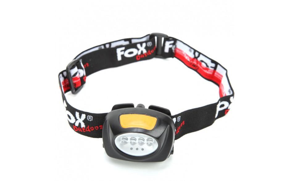 Kopflampe mt 7 LED s( 4 weiß 3 rot)