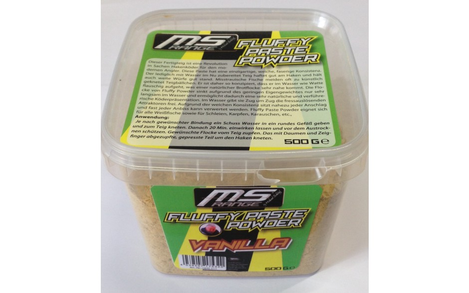 MS Range Fluffy Paste Powder Teig Vanille