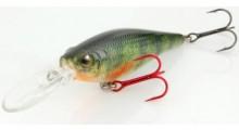 Spro Ikiru Shad 70LL SP Wobbler Green Perch
