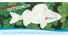 Gutschein für Angler Geschenkgutschein Angeln Anglergeschenkgutschein