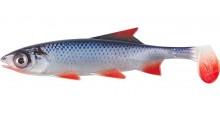 Clone Shad Rotauge 12cm Angelköder Gummifisch zum Angeln auf Raubfische