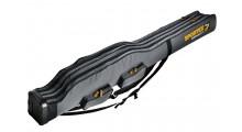 Sportex Super Safe 1,5 Meter mit 2 Fächer für 2 bis 4  Angelruten Farbe grau mit 2 Trageriemen