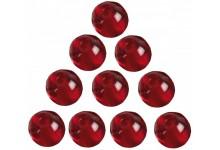 Iron Claw Glass Beads - Glasperlen 8 mm für Drop Shot & Angelmontagen