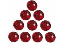 Iron Claw Glass Beads - Glasperlen 10 mm für Drop Shot & Angelmontagen