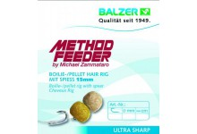 Balzer Method Feeder Hair Rig mit Speer