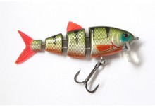 Spro Swimbait BBZ-1 2.5 Crank N Swim Wobbler schnell sinkend Green Perch
