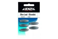Jenzi Olivenbleie 10 Gramm 5 Stück Angelbleie in Olivenform