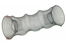 Köderfischreuse für Köderfische 90 * 30 * 25 cm rund und faltbar