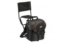 Abu Garcia Rucksackstuhl mit Rückenlehne und abnehmbarem Rucksack in hochwertigem Design und Material