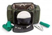 ANACONDA Catering Bag Kühltasche und Picknicktasche mit Kühlfach und Picknickzubehör