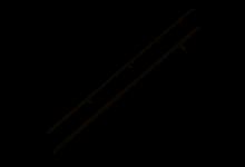 Anaconda Vipex 12ft. 3,50lb 3,6 Meter 375 Gramm 188 cm Transport Karpfenrute CarpRod