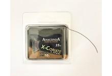Anaconda X - Coriate Link Vorfachschnur sinkend 25 lb 10 Meter Karpfenvorfach