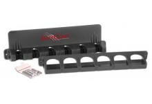 Iron Claw Wall Rod Rack Rutenhalter für 6 Angelruten Wandrutenhalter für Angelruten