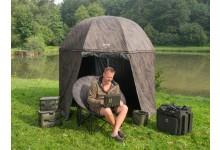 Anaconda Freelancer Shelter Anglerschirmzelt 240 cm Durchmesser ideales komplett schliessbares Schirmzelt