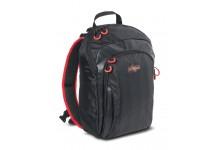 Iron Claw SF Magnum Swing Angelrucksack mit Box und Schultertasche in einem ideal für Angelzubehör und Angelköder