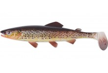 Clone Shad Bachforelle 12cm Angelköder Gummifisch zum Angeln auf Raubfische