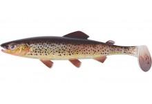 Clone Shad Bachforelle 9cm Angelköder Gummifisch zum Angeln auf Raubfische