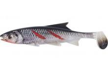 Clone Shad Bloody Minnow 18cm Angelköder Gummifisch zum Angeln auf Raubfische