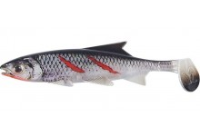 Clone Shad Bloody Minnow 9cm Angelköder Gummifisch zum Angeln auf Raubfische