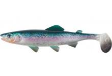 Clone Shad Regenbogenforelle 12cm Angelköder Gummifisch zum Angeln auf Raubfische