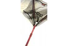 Shirasu Balzer Kescher 2,7 Meter Länge 2teiliger Griff gummiertes Netz 55 cm Armlänge