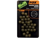 FOX Edges Tapered Bore Beads Ø 6 mm