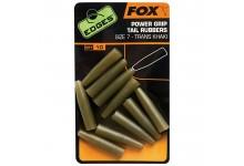 Fox Edges Power Grip Tail Rubbers Größe 7