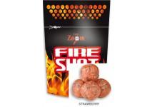 Carp Zoom Fire Shot Boilies Hookable Baits 120 Gramm Erdbeer Geschmack