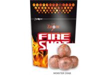Carp Zoom Fire Shot Boilies Hookable Baits 120 Gramm Monsterkrabbe Geschmack