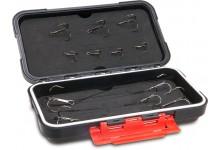 Iron Claw Stinger Hardcase S Angelbox für Stinger und Stahlvorfächer zum Hechtangeln und Raubfischangeln