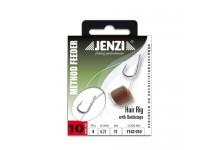 Method Feeder Hair Rig mit Quickstop, Länge 12,0 cm, Durchmesser 0,23 mm Hakengröße10