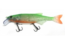 Mard Reap Swimbait 26 cm Angelköder 110 Gramm Ghost green Dekor