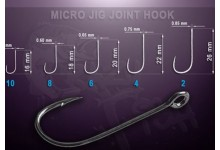 Crazy Fish Micro Jig Joint Hook Gr. 2