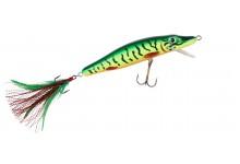 Wobbler MK Grosshecht-Schlange 13 cm 26 Gramm bis 2 Meter Taucht. Angelwobbler Farbe Hecht Natur